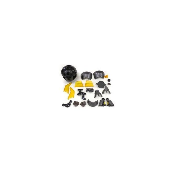中古トレーディングフィギュアアウターボディカプセル「インテグレートモデルマジンガーZ(ブラックバージョン)」プレミ