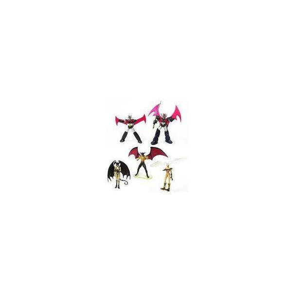 中古トレーディングフィギュア全5種セット「ガシャポンEXHGシリーズ永井豪ワールドパールカラーバージョン」