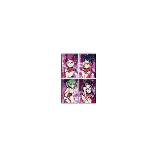 新品サプライ 【遊戯王】スリーブセット サキュバス柚子シリーズセット(にじゅ) エアコミケ2/ミッドナイトブルー