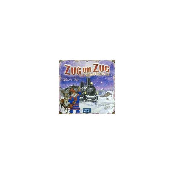 中古ボードゲーム チケット・トゥ・ライド ドイツ語版 スカンジナビア (Zug um Zug:Skandinavien)