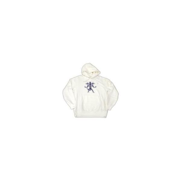 中古衣類 フリーザ スウェットプルパーカー ホワイト XXLサイズ 「ドラゴンボール×ユニクロ」 オンラインスト