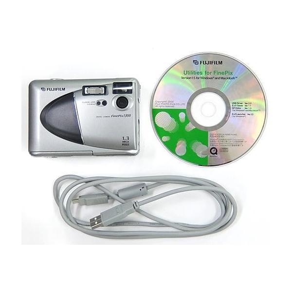 中古カメラ デジタルカメラ FinePix1300 131万画素 [FX-1300] (状態:スマートメディア欠品)