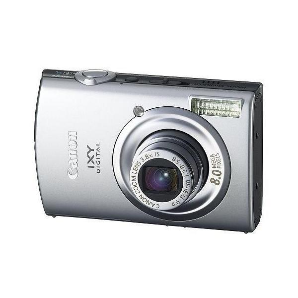 中古カメラ デジタルカメラ IXY DIGITAL 910 IS 800万画素 (シルバー) [2342B001](状態:SDカード