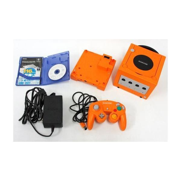 NINTENDO GAMECUBE エンジョイプラスパック オレンジの画像