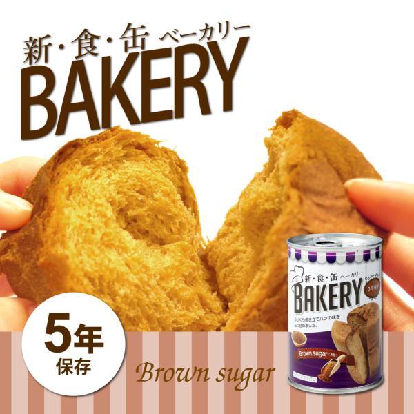 非常食 缶入りパン 新・食・缶ベーカリー 黒糖 5年保存