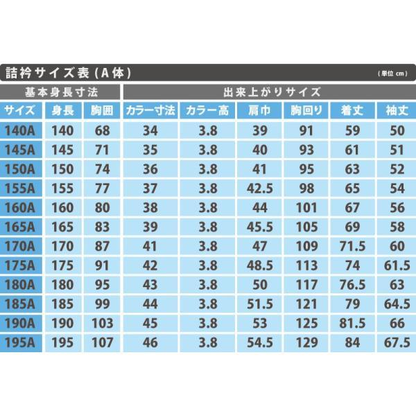 カンコー標準学生服 男子 学生服上着 ソフトラウンドトリムカラー 160cmA〜175cmA (Kanko 中高生 学ラン 学生服) (送料無料) (在庫限り) suteteko 05