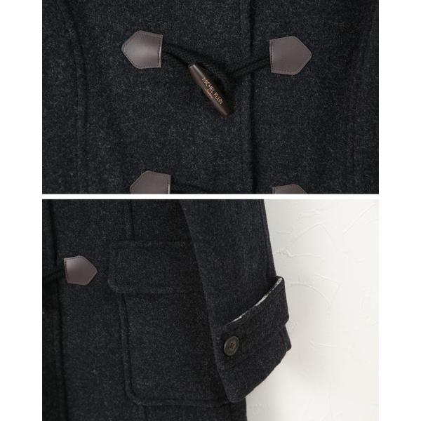 MICHEL KLEIN ダッフルコート(Wフェイス) S〜L (MICHELKLEIN フード付き ダッフルコート 通学 通勤 防寒着 カンコー学生服) (送料無料) (在庫限り)|suteteko|04