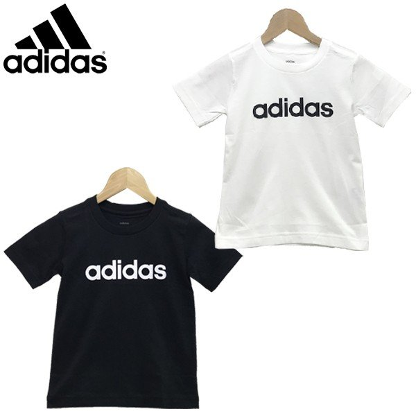 eb2f6f1244c490 サマーセール!! adidas アディダス キッズ ジュニア 子供服 男の子B CORE リニアロゴ Tシャツ ...