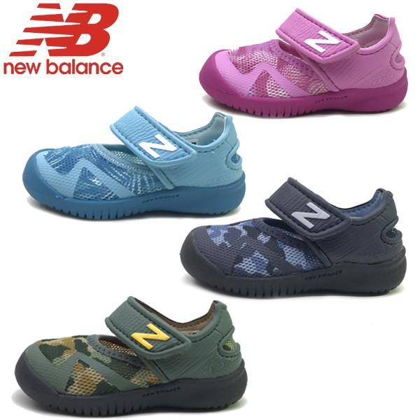0a982cbcf0a38 新作 New Balance ニューバランス ベビー キッズ 水陸両用 スニーカー ...