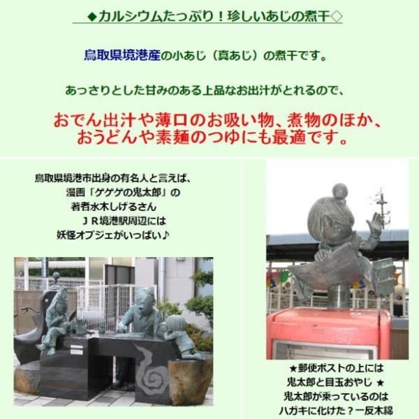 鳥取県産境港 あじ煮干200g|suyamashouten|02