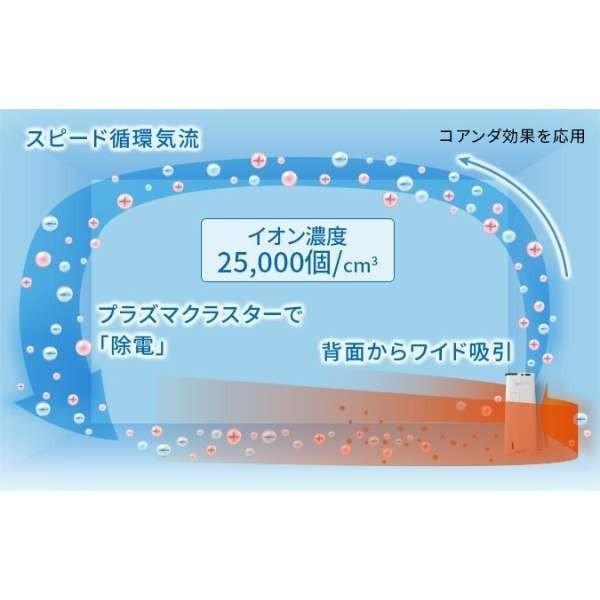 シャープ 空気清浄機 プラズマクラスター KI-JS40-W ホワイト系 加湿機能付 suzu-onlineshop 03