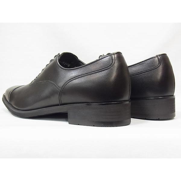 リーガル 靴 メンズ ゴアテックス REGAL 35HR BLK ブラック ストレートチップ 3E ビジネスシューズ 防水 人気 紳士靴|suzuchu-footwear|04