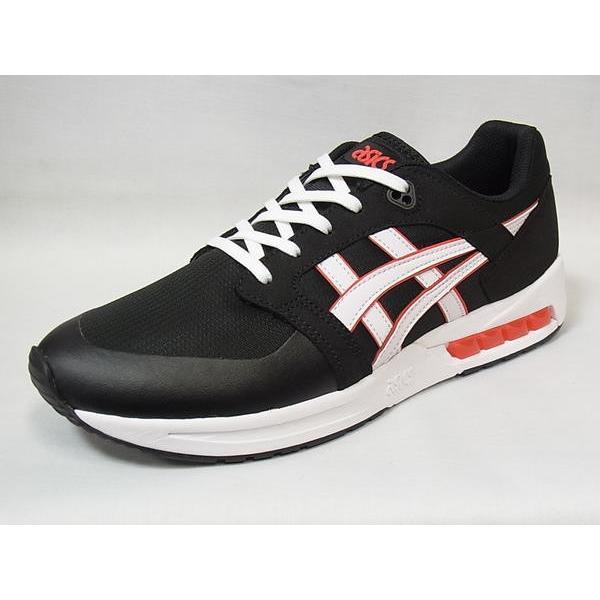 アシックスタイガー メンズ スニーカー ゲルサガ ソウ ASICS tiger GELSAGA SOU BLACK/WHITE ブラック/ホワイト シューズ|suzuchu-footwear