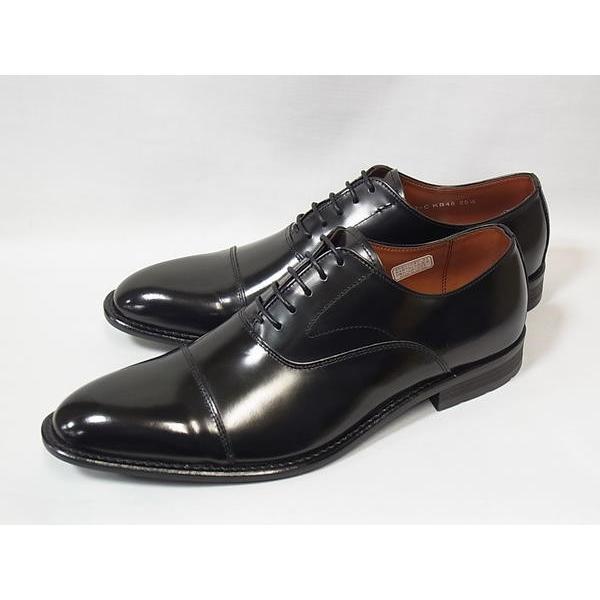 ケンフォード ストレートチップ KENFORD KB48 AJ BLK ブラック リーガル 人気 紳士靴|suzuchu-footwear