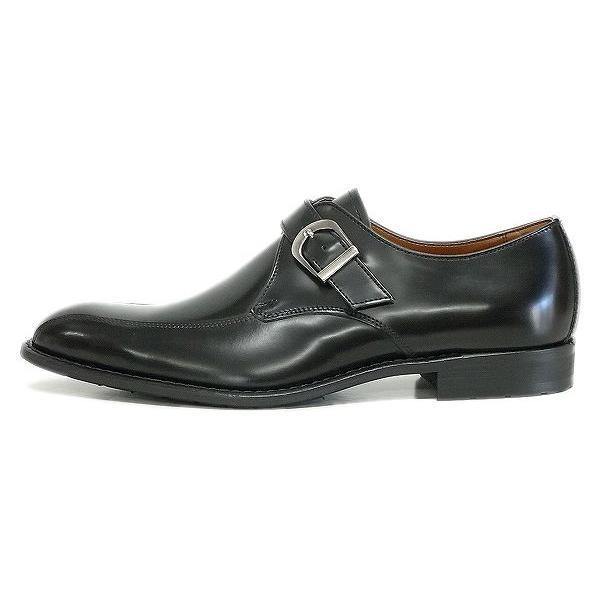 ケンフォード メンズ ビジネスシューズ KENFORD KB49 AJ BLK ブラック モンクストラップ リーガル 紳士靴|suzuchu-footwear|02