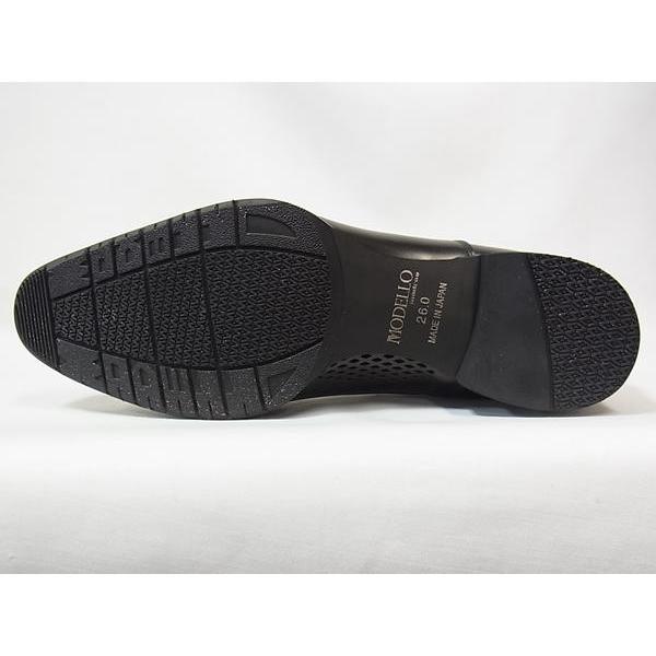 マドラス 正規品 モデロ ストレートチップ madras MODELLO DM8001 BLK ブラック メンズ ビジネスシューズ 防水 紳士靴 suzuchu-footwear 05