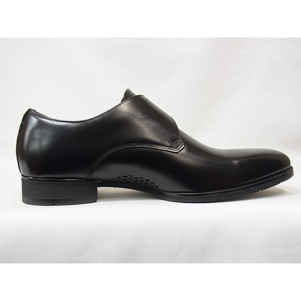 マドラス 正規品 モデロ モンクストラップ madras MODELLO DM8003 BLK ブラック メンズ ビジネスシューズ 防水 紳士靴|suzuchu-footwear|03