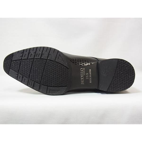 マドラス 正規品 モデロ モンクストラップ madras MODELLO DM8003 BLK ブラック メンズ ビジネスシューズ 防水 紳士靴|suzuchu-footwear|05