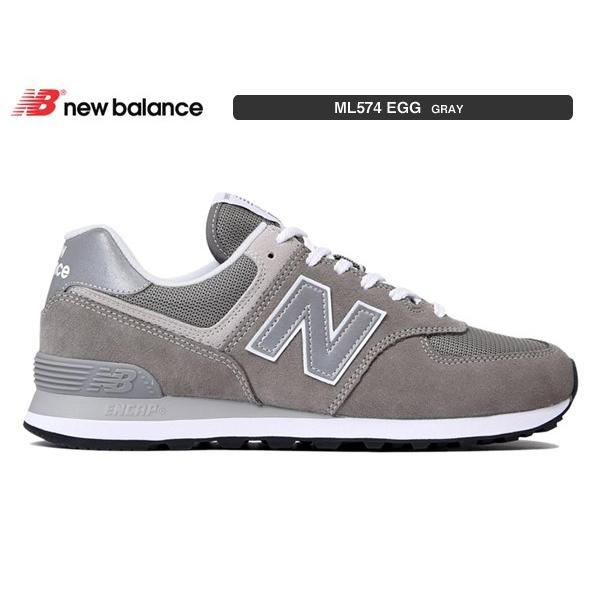 ニューバランス スニーカー newbalance ML574 EGG GRAY グレー suzuchu-footwear 02