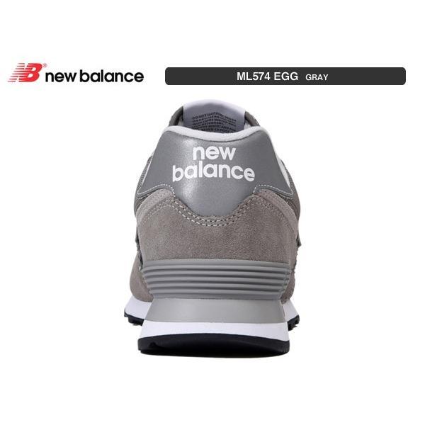 ニューバランス スニーカー newbalance ML574 EGG GRAY グレー suzuchu-footwear 03