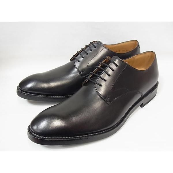 リーガル 正規品 靴 メンズ REGAL 04RR BG BLK ブラック プレーントゥ ビジネスシューズ 新作 日本製 紳士靴|suzuchu-footwear