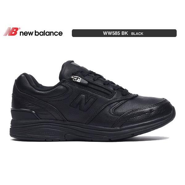 ニューバランス レディース newbalance WW585 BK ブラック 幅D 幅2E 幅4E ウォーキング|suzuchu-footwear|02