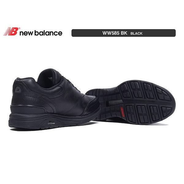 ニューバランス レディース newbalance WW585 BK ブラック 幅D 幅2E 幅4E ウォーキング|suzuchu-footwear|03