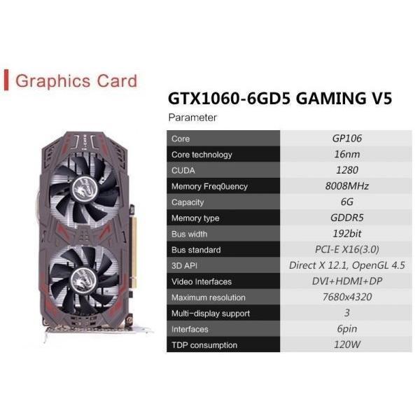 ゲーミングPCデスクトップ Core i7-8700K/ターボ4.7Ghz/ メモリ8GB/SSD 240GB/COLORFUL 1060 6G GAMING V5/500W/GETWORTH/win10homeEnglish|suzukazemarket|06