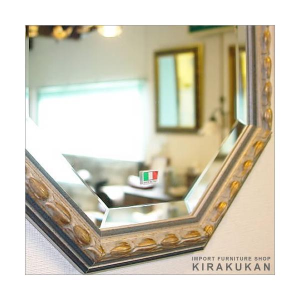 輸入雑貨 イタリア製八角ミラー 鏡|suzukikagu|03
