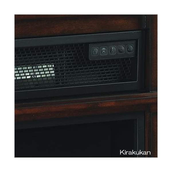 電気式暖炉 ロイドグランデ ベニントン ローリングタイプ 1000W メリディアンチェリー