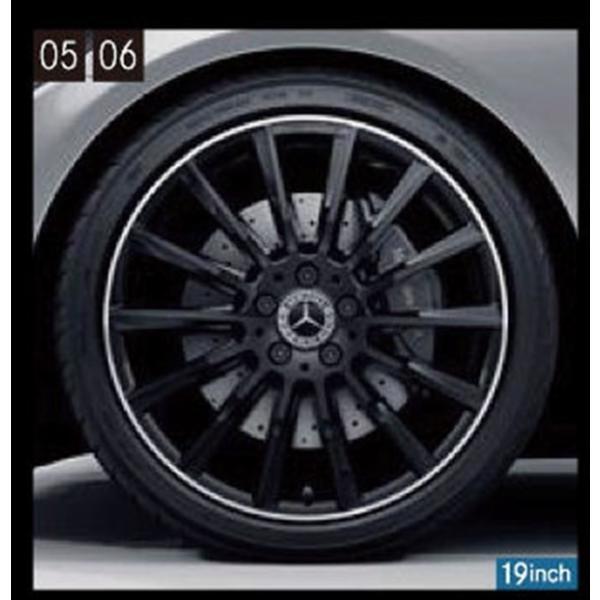 Cクラス(セダン、ステーションワゴン) AMG19インチマルチスポークアルミホイール ベンツ純正部品 DBA DAA LDA CBA パーツ オプション suzukimotors-dop-net