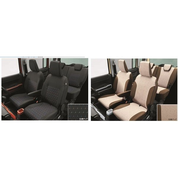 ハスラー シートカバー スズキ純正部品 MR52S パーツ オプション|suzukimotors-dop-net