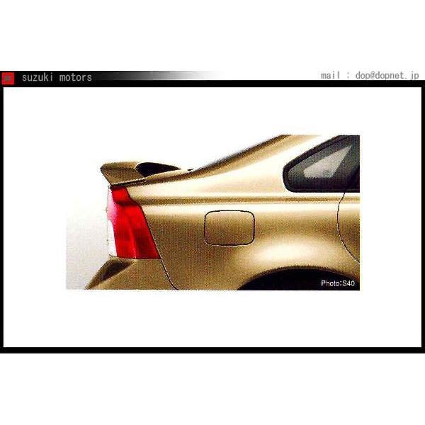 C30 S40 V50 トランクスポイラーウイングタイプ プライマー(無塗装)  ボルボ純正部品 パーツ オプション
