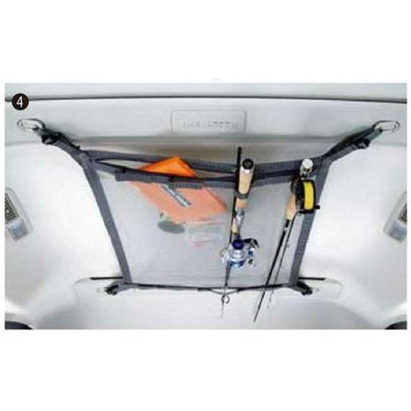 dbis046 デリカD:5 ヘッドスペースネット(ロッドホルダー兼用)  三菱純正部品 パーツ オプション