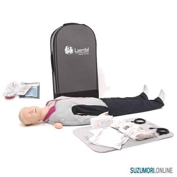 レールダル AED レサシアン with QCPR 全身 CPRトレーニング laerdal|suzumori|05