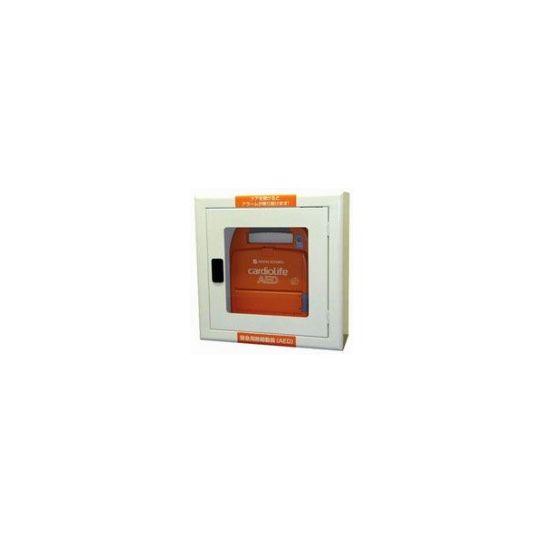 AED収納ボックス 22084 【壁掛け・壁面設置タイプ】|suzumori