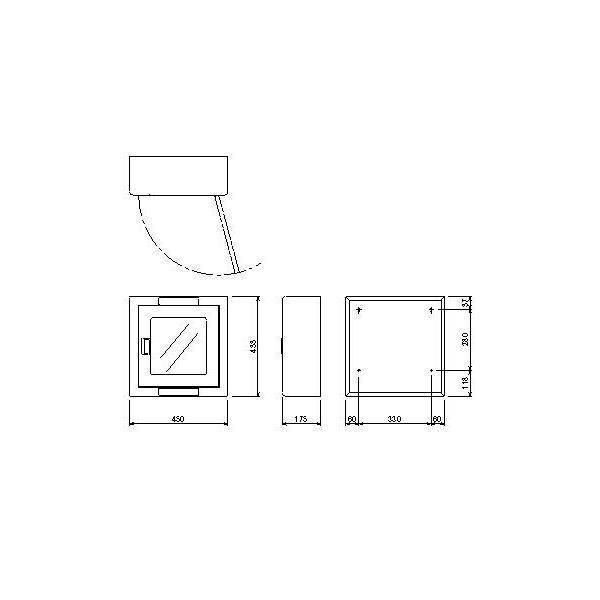 AED収納ボックス 22084 【壁掛け・壁面設置タイプ】|suzumori|04