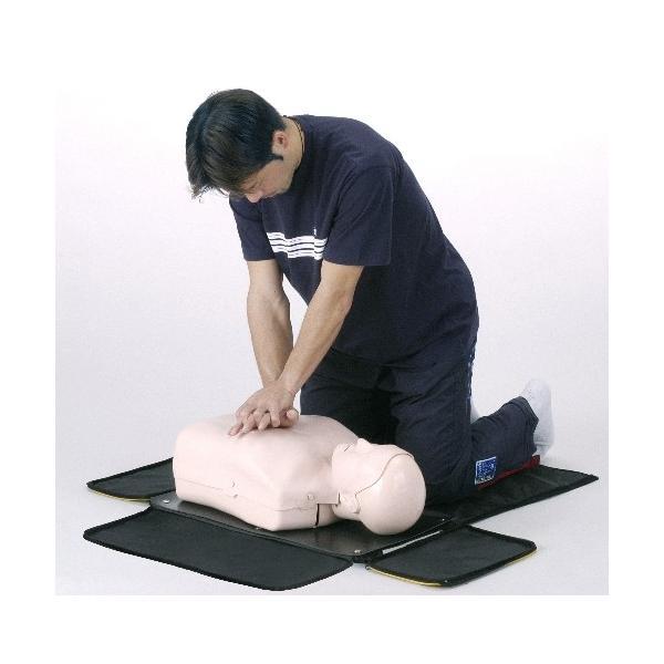 JAMY-P ソフトケース付 【ウェアー付き】 心肺蘇生 CPR 教育・訓練用 簡易模擬人体モデル suzumori 02