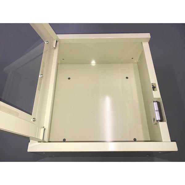 両開き 壁掛式 屋内型 AED収納ボックス AED110K 壁掛け 壁面設置タイプ|suzumori|04