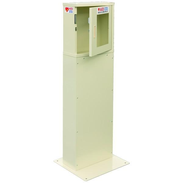 両開き 自立式 屋内型 AED収納ボックス AED110KB 【スタンドタイプ】|suzumori|02