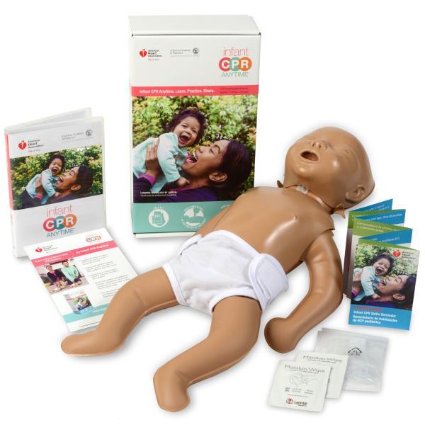 レールダル ミニベビー 乳児 CPR 学習キット Laerdal 心肺蘇生訓練用人形|suzumori