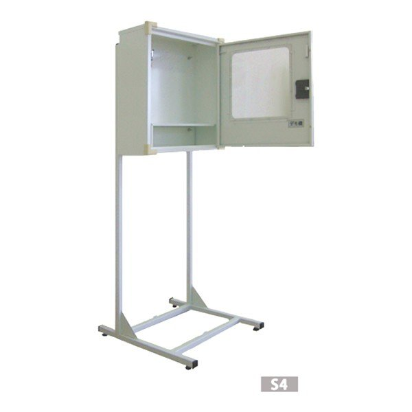 AED収納ボックス JYO-S4  パイプスタンドタイプ ※受注生産品 ※代引不可メーカー直送品|suzumori|02