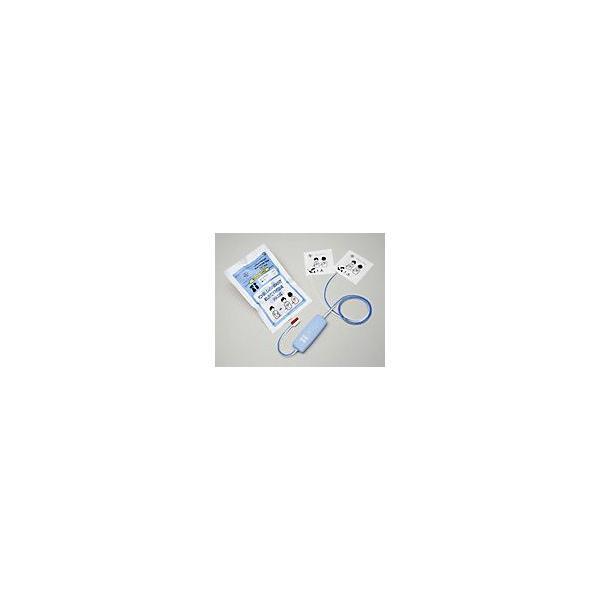 日本光電 AED-9200シリーズ AED-1200共通 減衰器付き除細動電極 H322 【 P-592 小児用パッド 】|suzumori