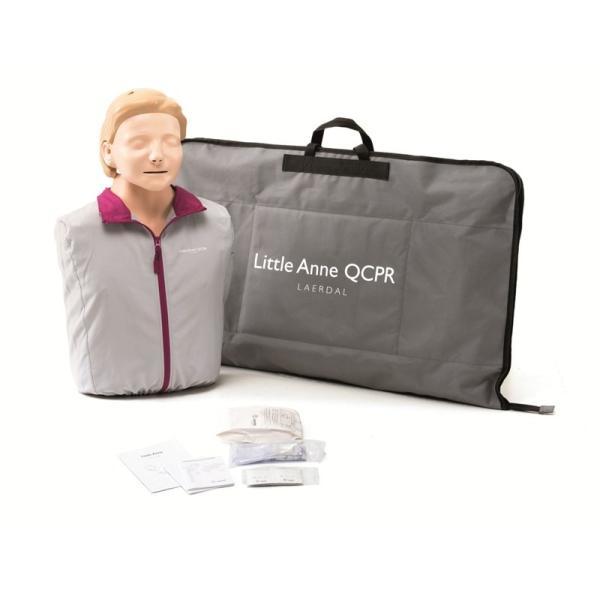 AEDトレーニングユニット「日本光電 TRN-3100」+ CPR訓練用人形「レールダル リトルアン QCPR」セット suzumori 05