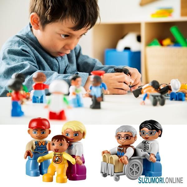 LEGO レゴ デュプロ はたらく人たち 45010 国内正規品 V95-5263|suzumori|02