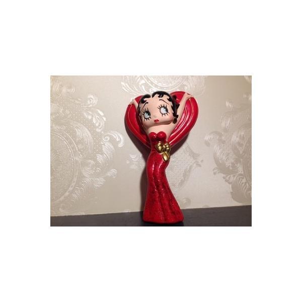ベティーブープ・赤ドレスマグネット/BettyBoop・RedDress・Magnet