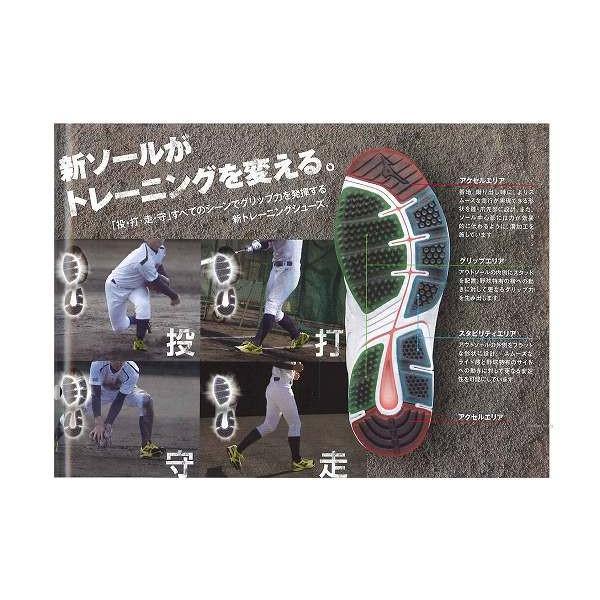 ミズノ トレーニングシューズ ミズノプロ MPサムライトレーナー 11GT1502 ★trs ■RS Mizuno kses 野球 トレーニングシューズ 野球用品 スワロースポーツ ■TRZ|swallow4860jp|02