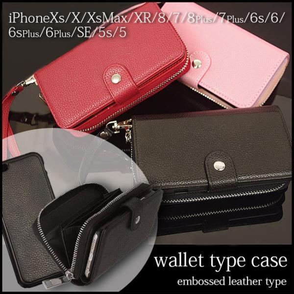 財布付きiphoneケース