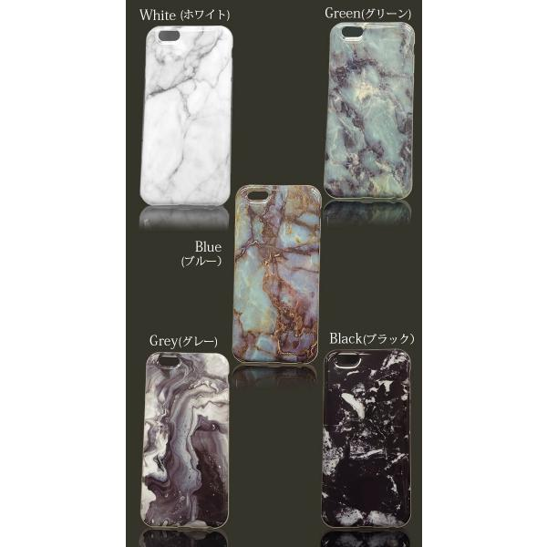 大理石 iphoneケース iphone XsMax XR Xs 8 7 6s plus マーブルストーン ソフト おしゃれ シリコン カバー アイフォン10s 天然石 イニシャル ペア ポスト便OK|swasuwa|05
