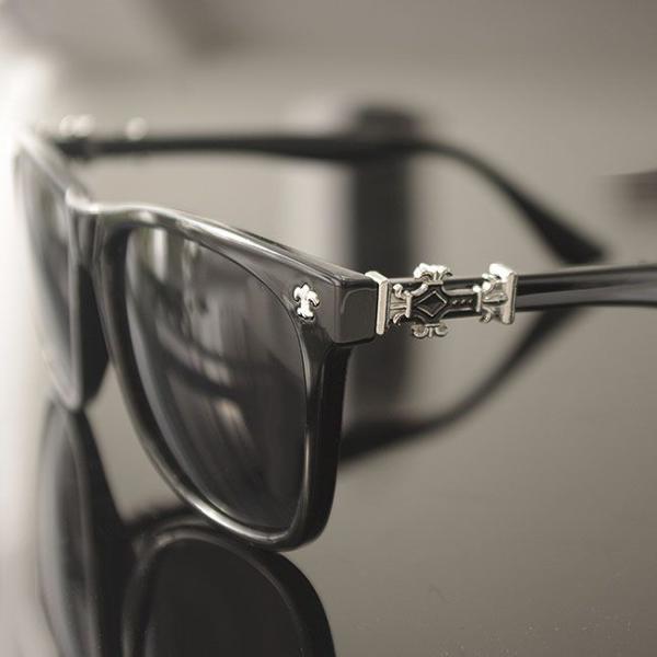 サングラス メンズ レディース uvカット クロス 百合の紋章 ブラック クロム おしゃれ UV400 紫外線カット ブランド UV対策  プレゼント swasuwa 02